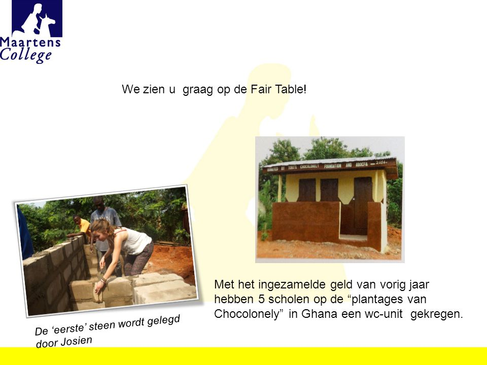 We zien u graag op de Fair Table!
