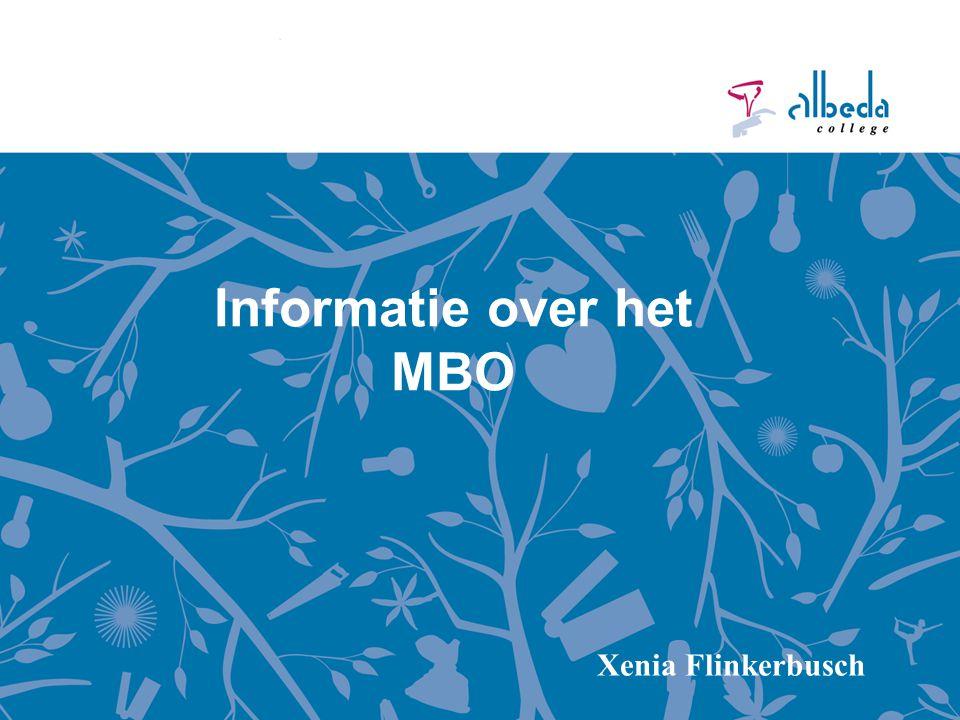 Informatie over het MBO