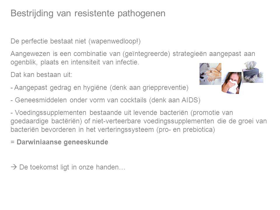 Bestrijding van resistente pathogenen