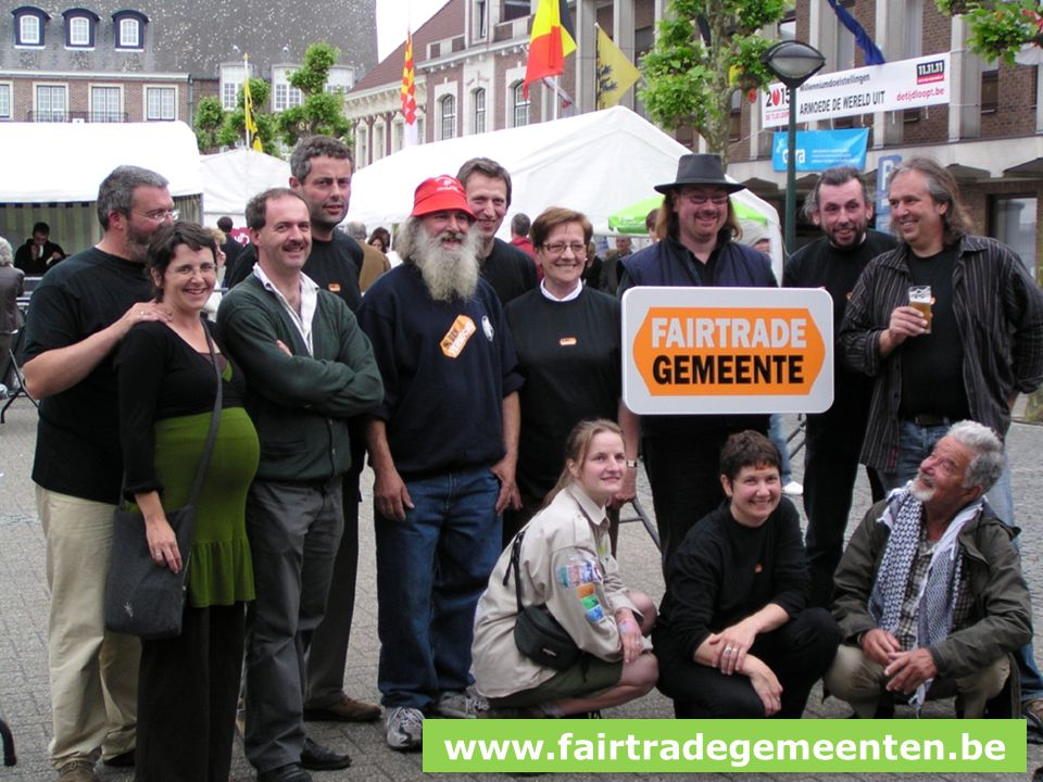 Fairtradegemeenten www.fairtradegemeenten.be