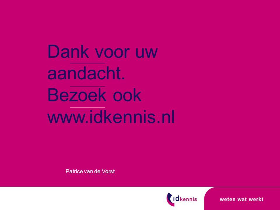 Bezoek ook www.idkennis.nl