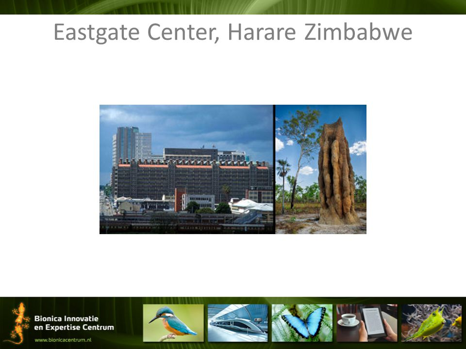 Eastgate Center, Harare Zimbabwe