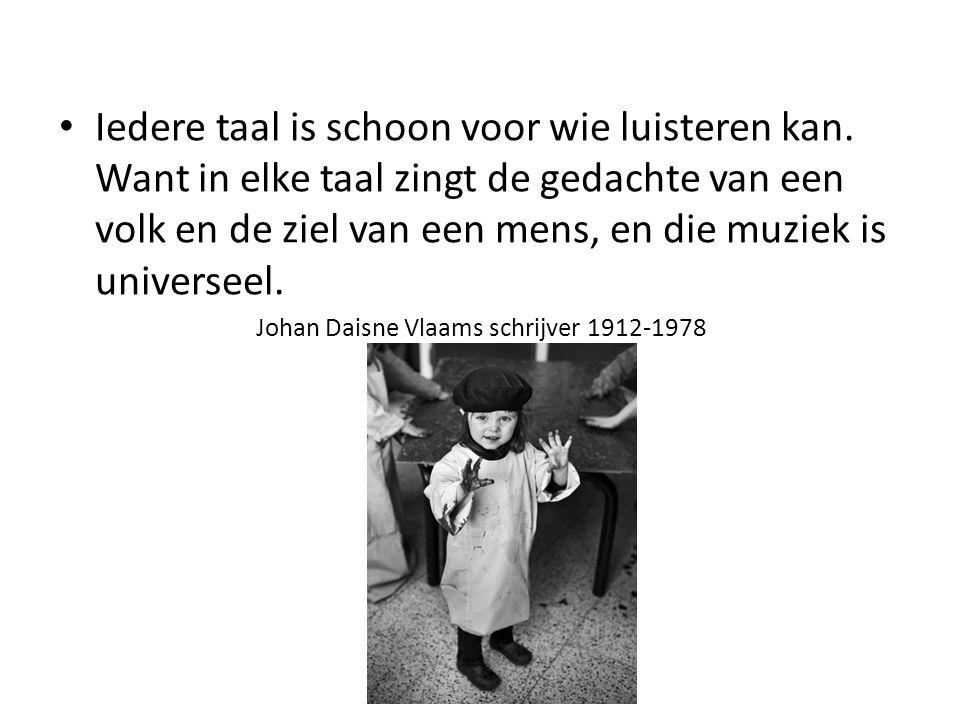 Johan Daisne Vlaams schrijver 1912-1978