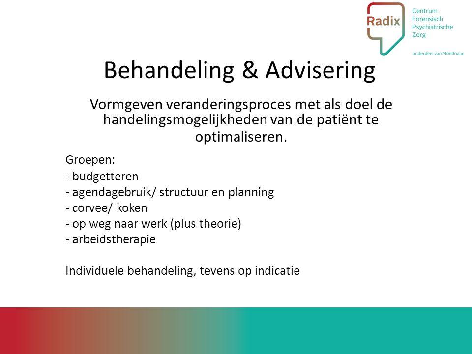 Behandeling & Advisering