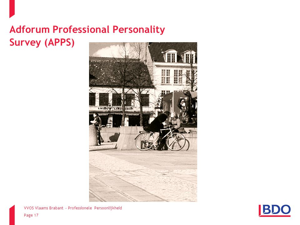Adforum Professional Personality Survey (APPS)