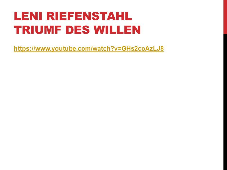Leni Riefenstahl Triumf des Willen