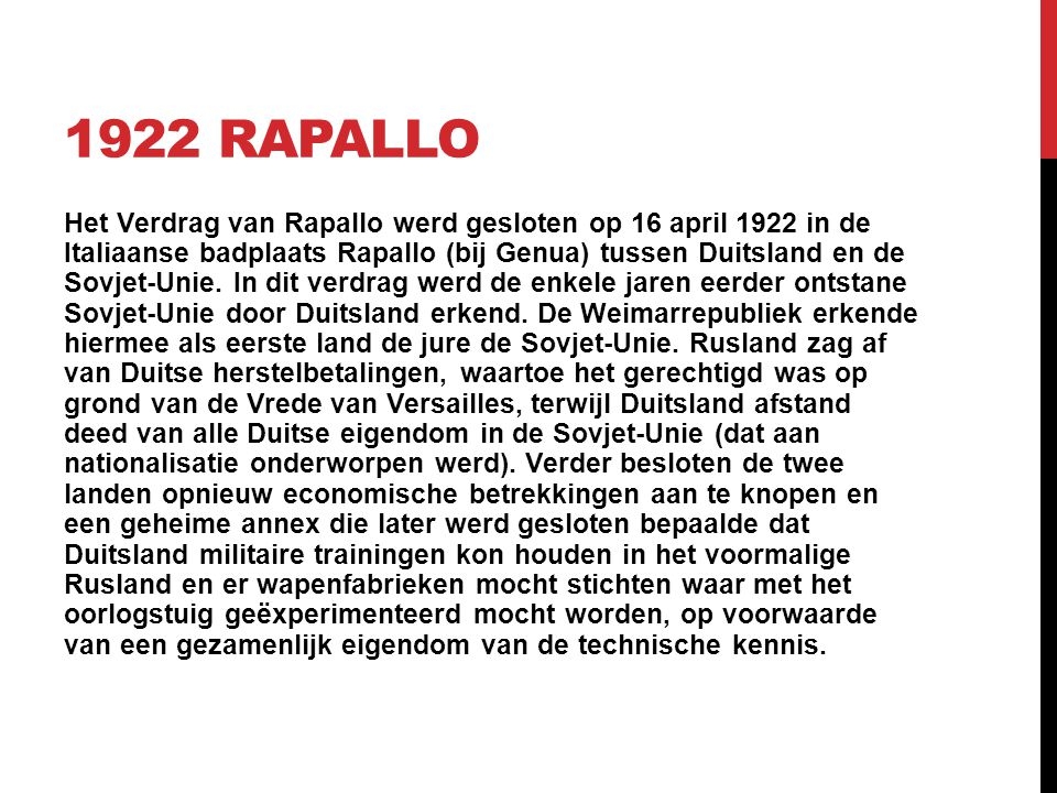 1922 Rapallo