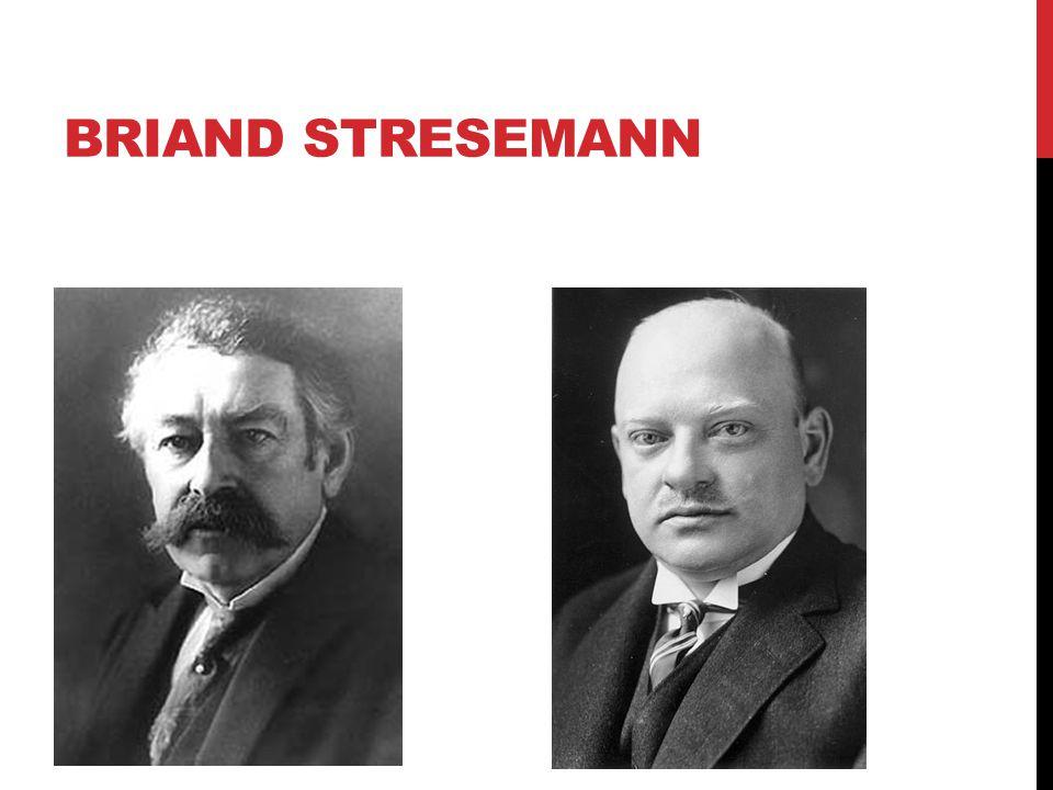 Briand Stresemann