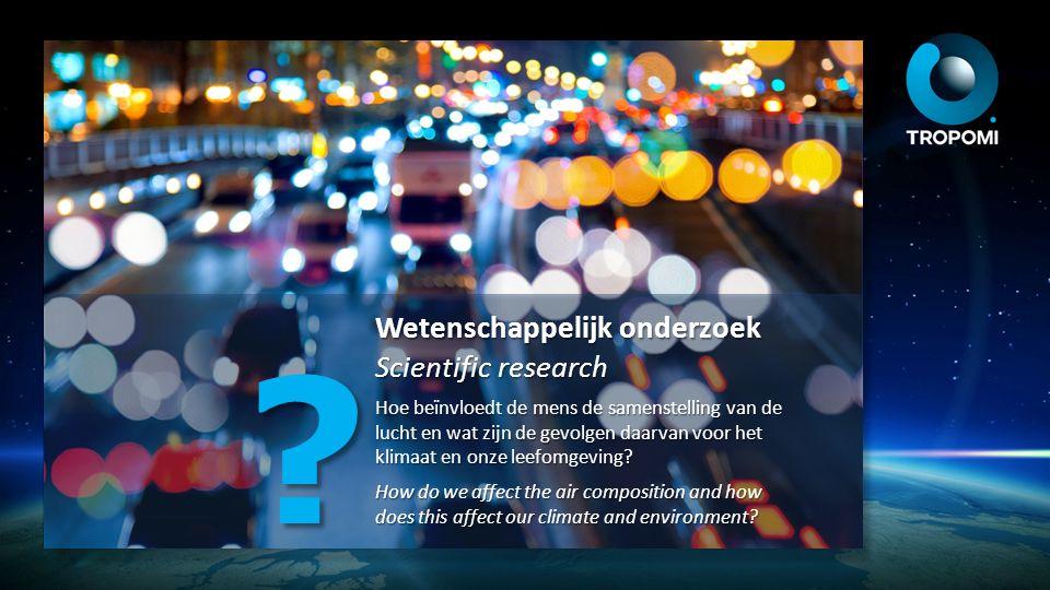 Wetenschappelijk onderzoek Scientific research
