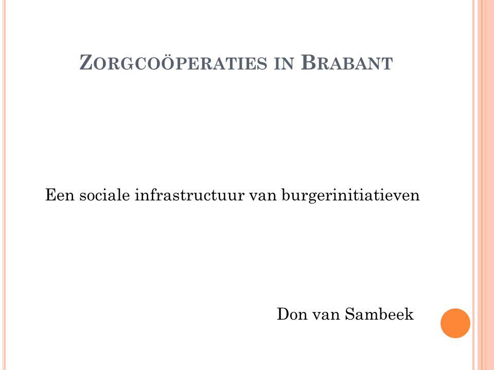 Zorgcoöperaties in Brabant