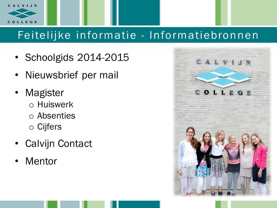 Feitelijke informatie - Informatiebronnen