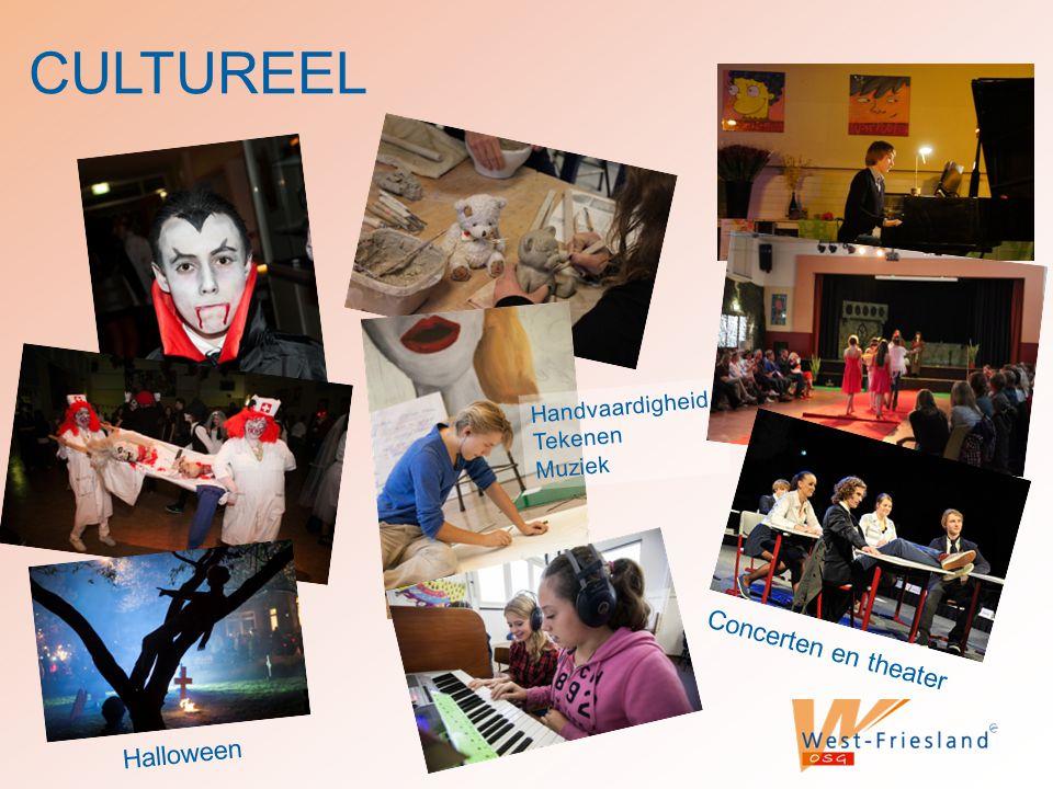 CULTUREEL Concerten en theater Halloween Handvaardigheid Tekenen