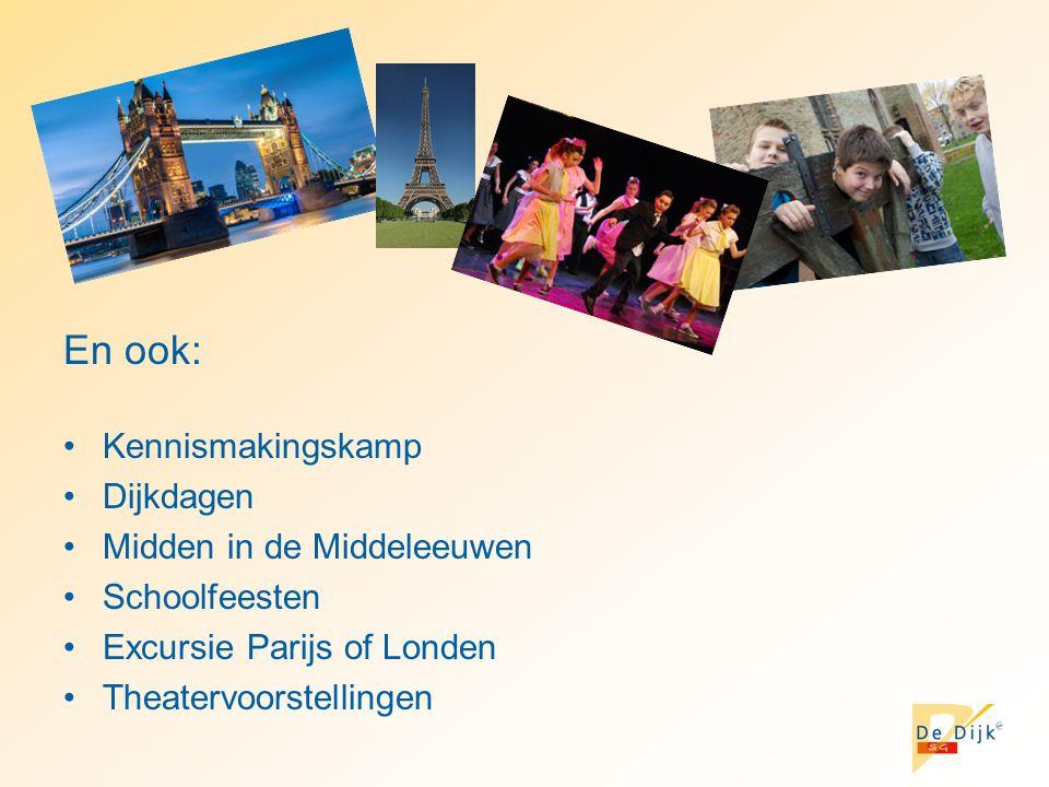 En ook: Kennismakingskamp Dijkdagen Midden in de Middeleeuwen