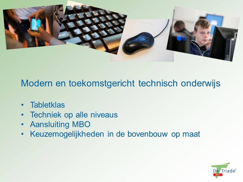 Modern en toekomstgericht technisch onderwijs