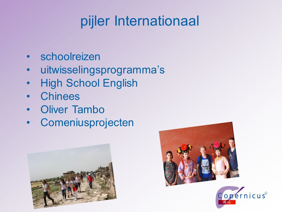 pijler Internationaal