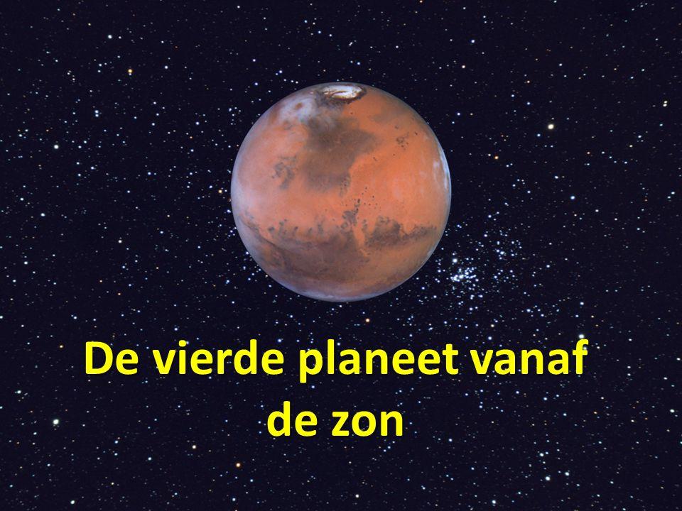 De vierde planeet vanaf de zon
