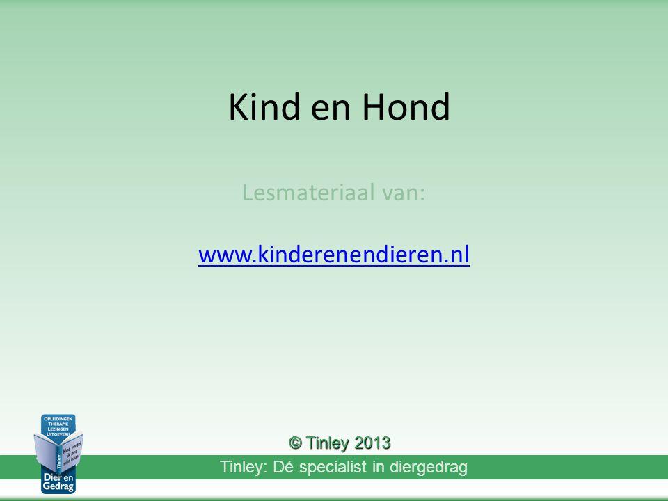 Lesmateriaal van: www.kinderenendieren.nl
