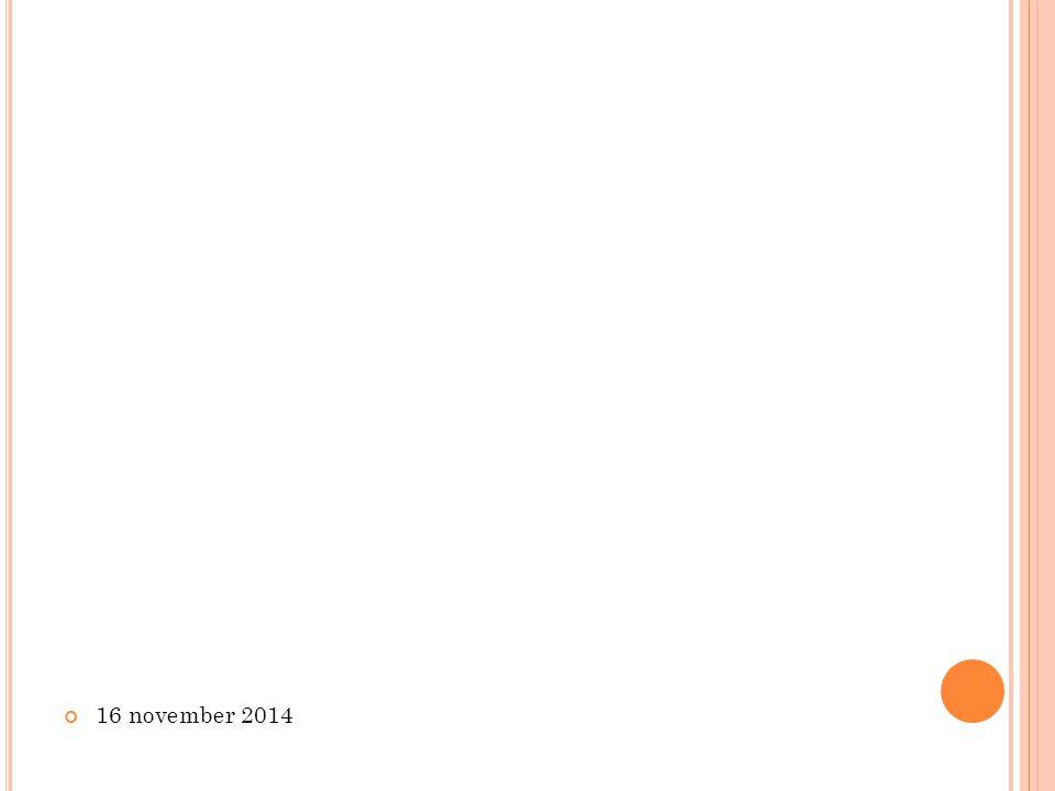 16 november 2014