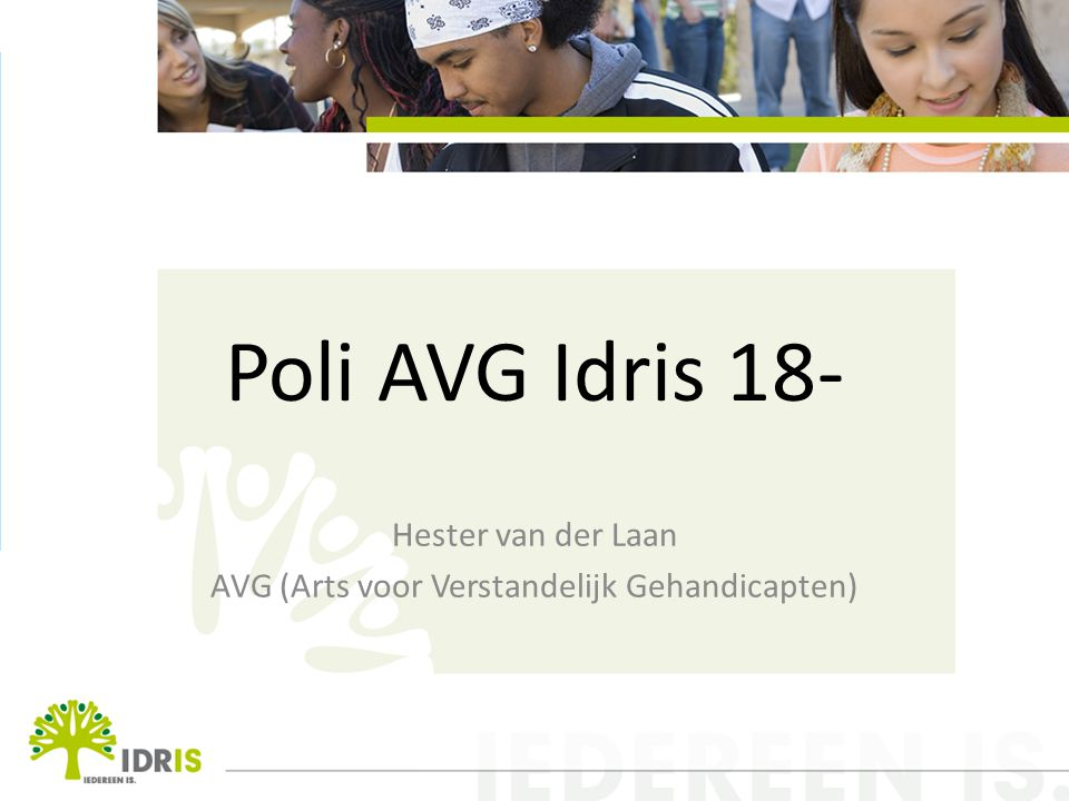 Hester van der Laan AVG (Arts voor Verstandelijk Gehandicapten)