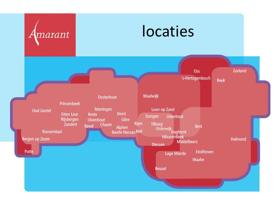 locaties Amarant biedt zorg over grote regio