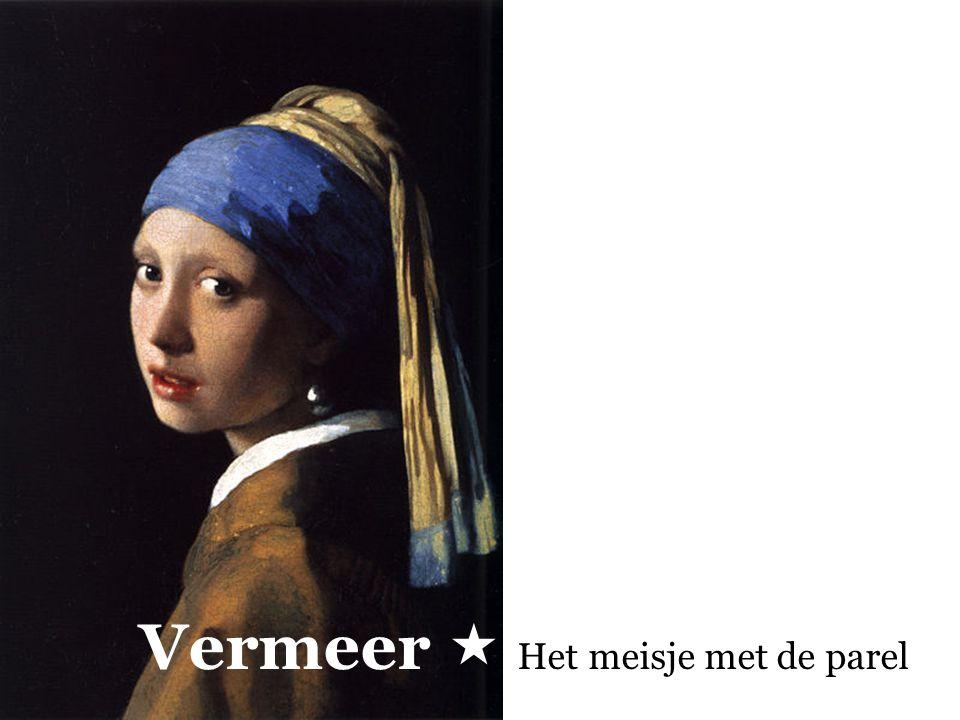 Vermeer  Het meisje met de parel