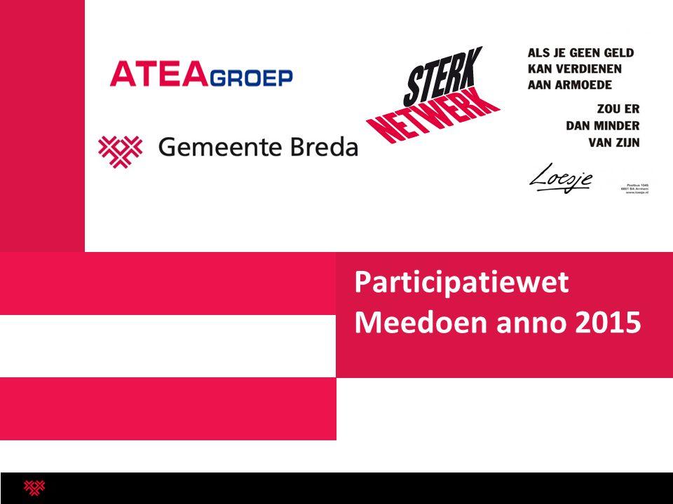 Participatiewet Meedoen anno 2015