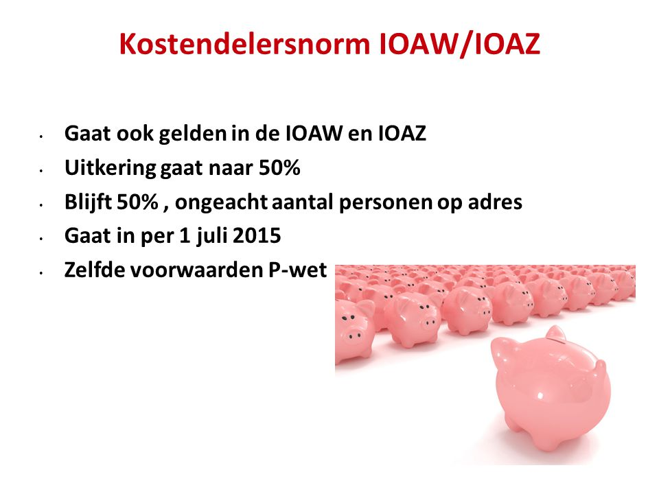 Kostendelersnorm IOAW/IOAZ