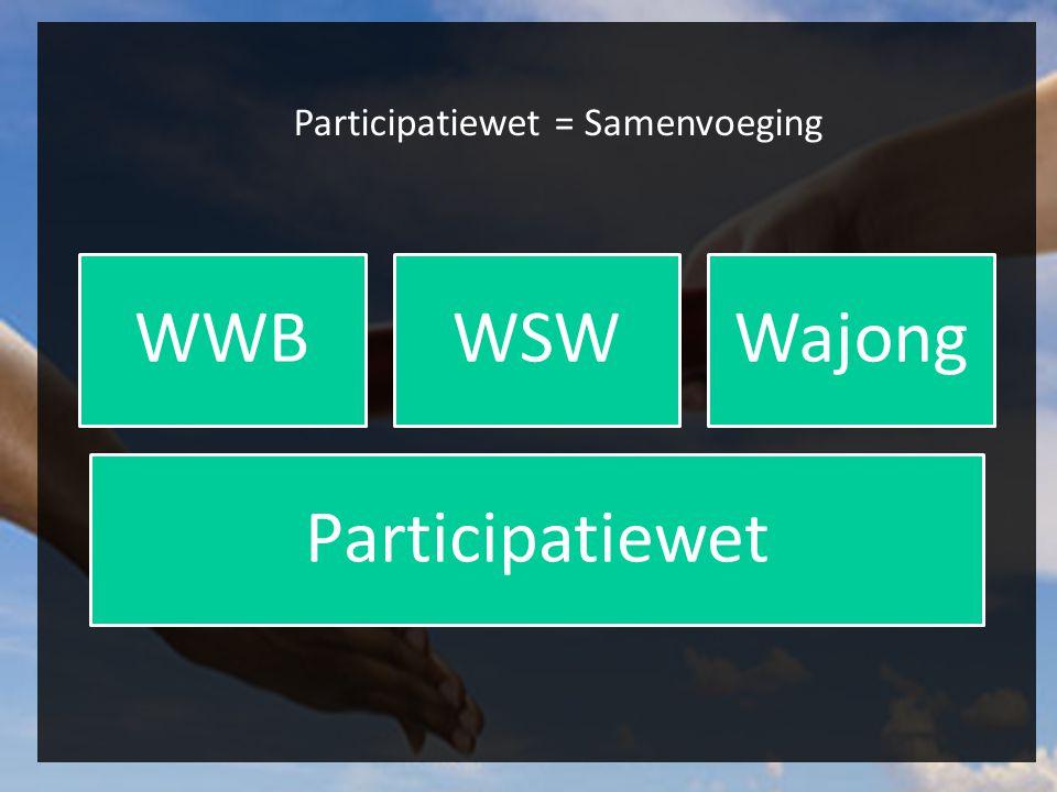 Participatiewet = Samenvoeging