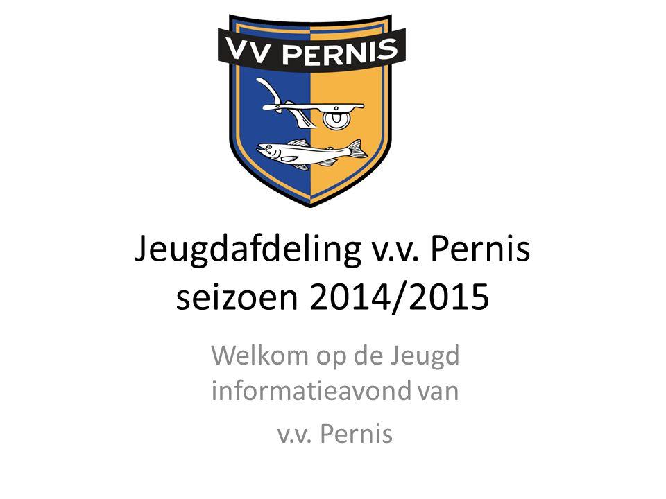 Jeugdafdeling v.v. Pernis seizoen 2014/2015