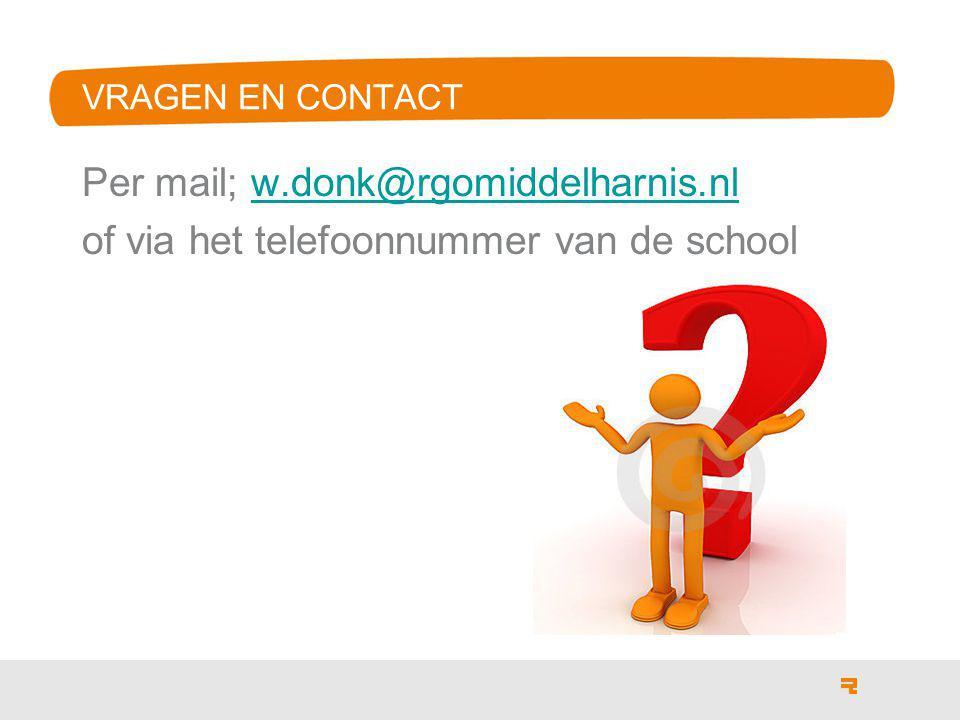 Per mail; w.donk@rgomiddelharnis.nl
