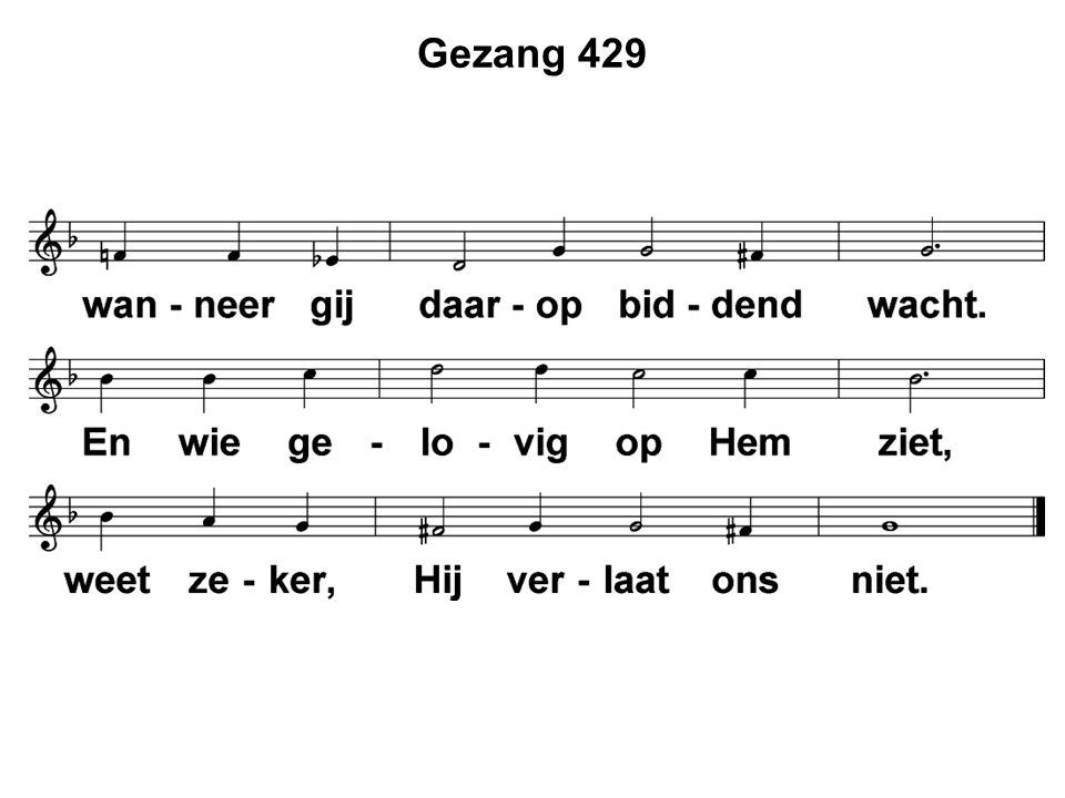 Gezang 429