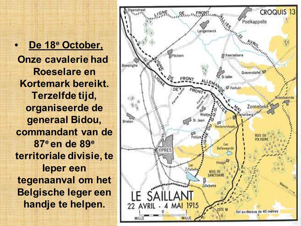 De 18e October,