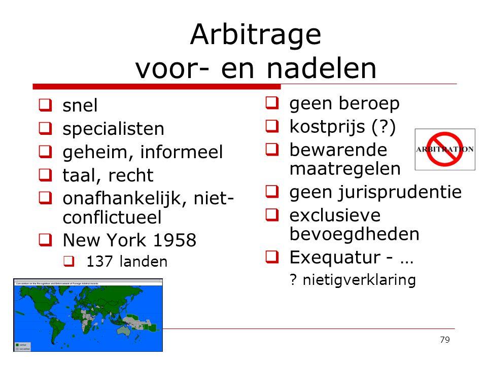 Arbitrage voor- en nadelen
