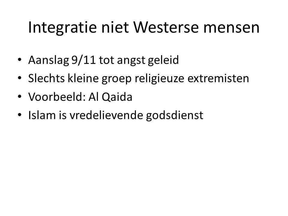 Integratie niet Westerse mensen