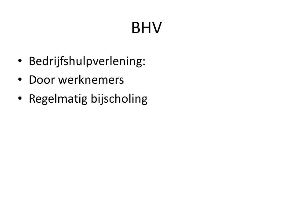BHV Bedrijfshulpverlening: Door werknemers Regelmatig bijscholing