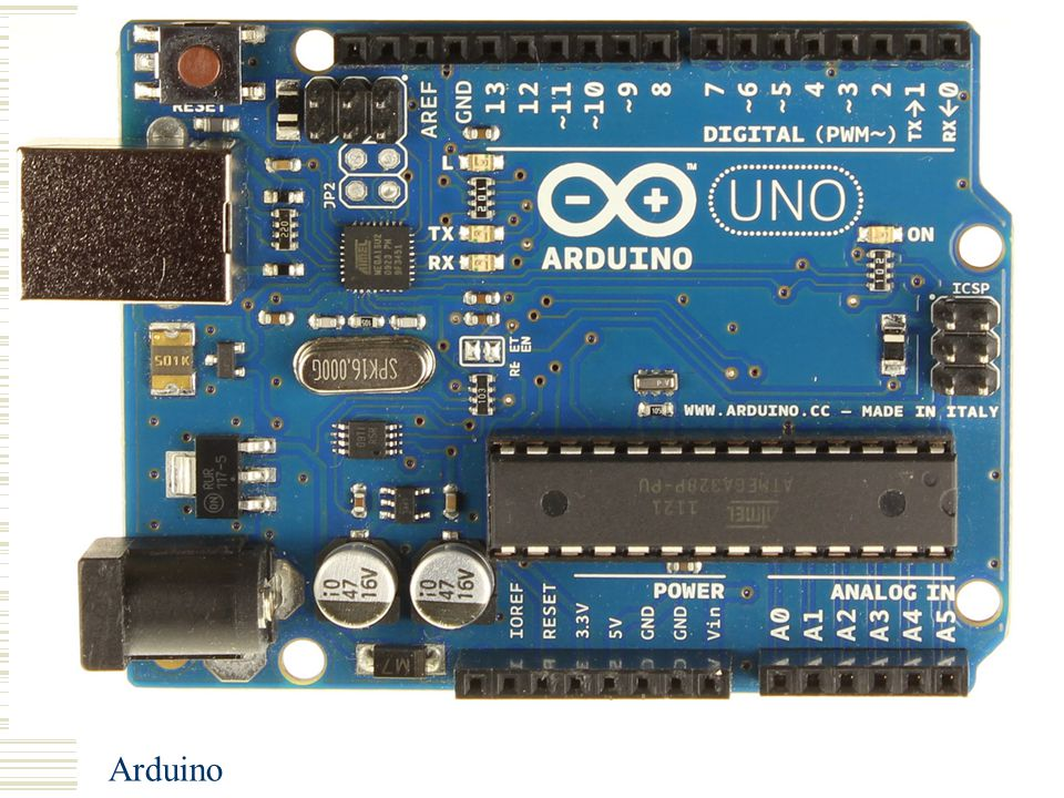 Arduino Pin Lay-out Arduino