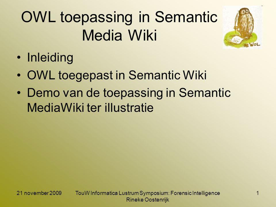 Inleiding (1) Wie ben ik Capita selecta Semantic Web