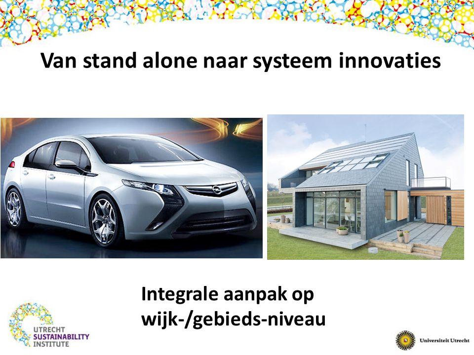 Van stand alone naar systeem innovaties