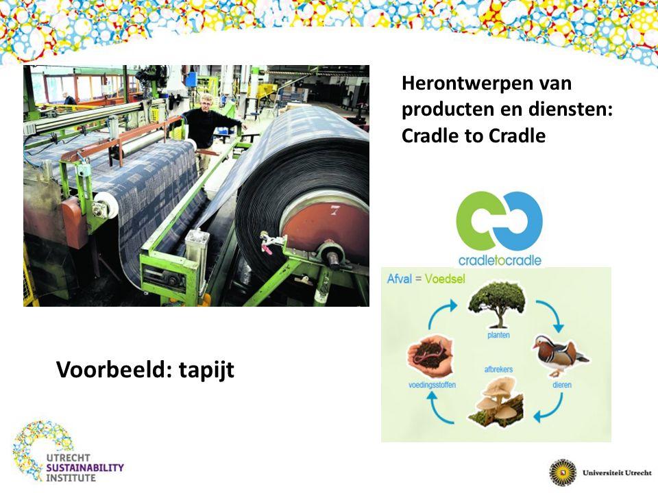 Herontwerpen van producten en diensten: Cradle to Cradle