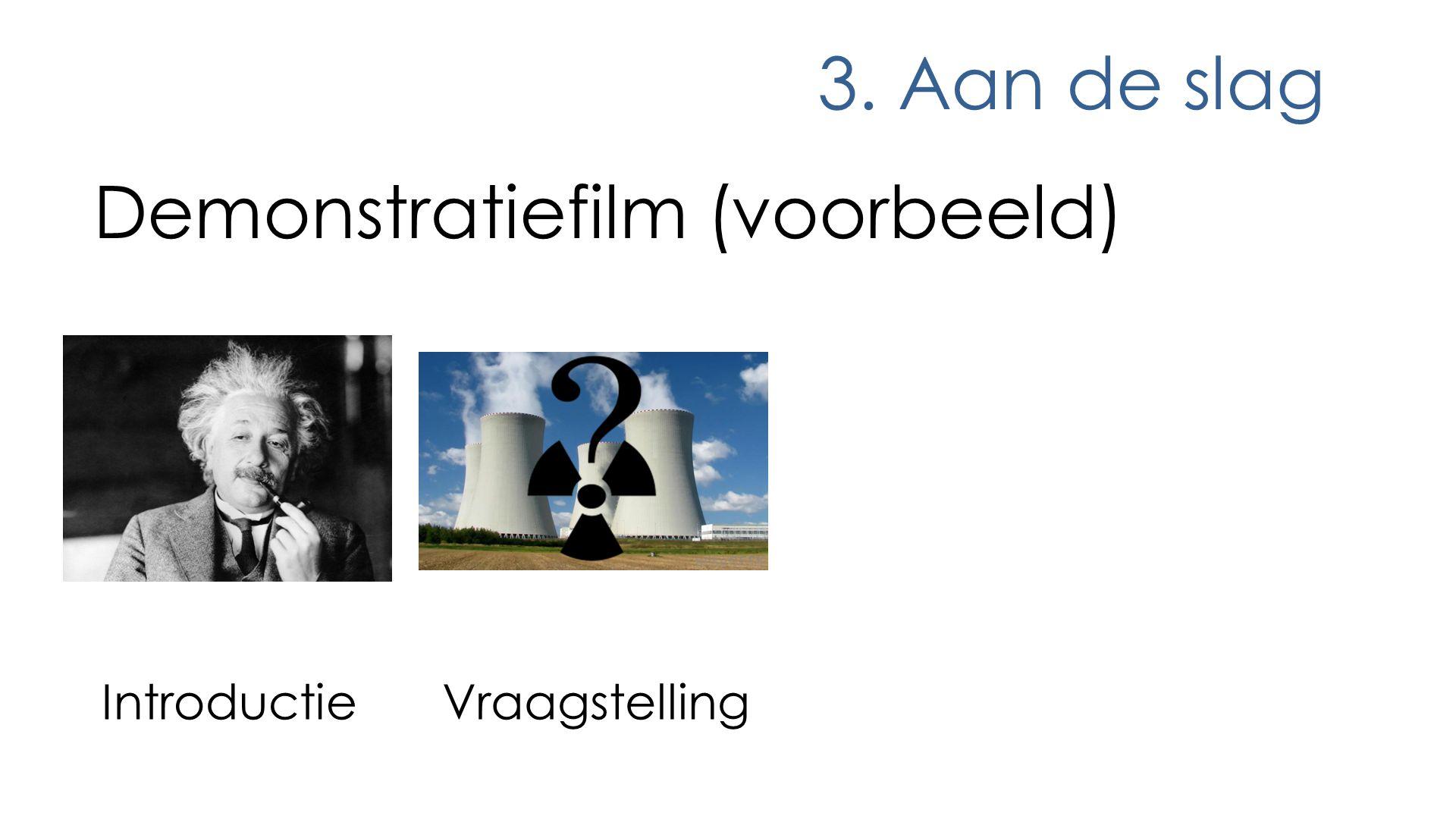 Demonstratiefilm (voorbeeld)