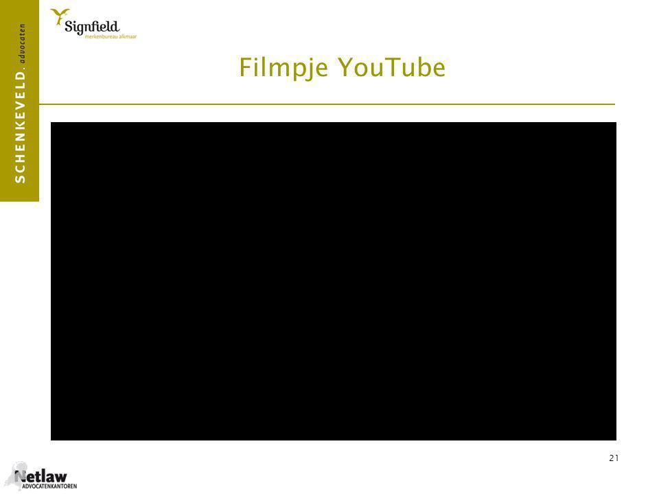 Filmpje YouTube