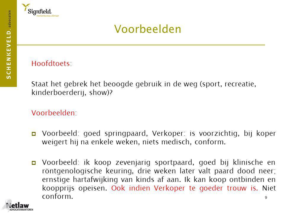 Voorbeelden Hoofdtoets: