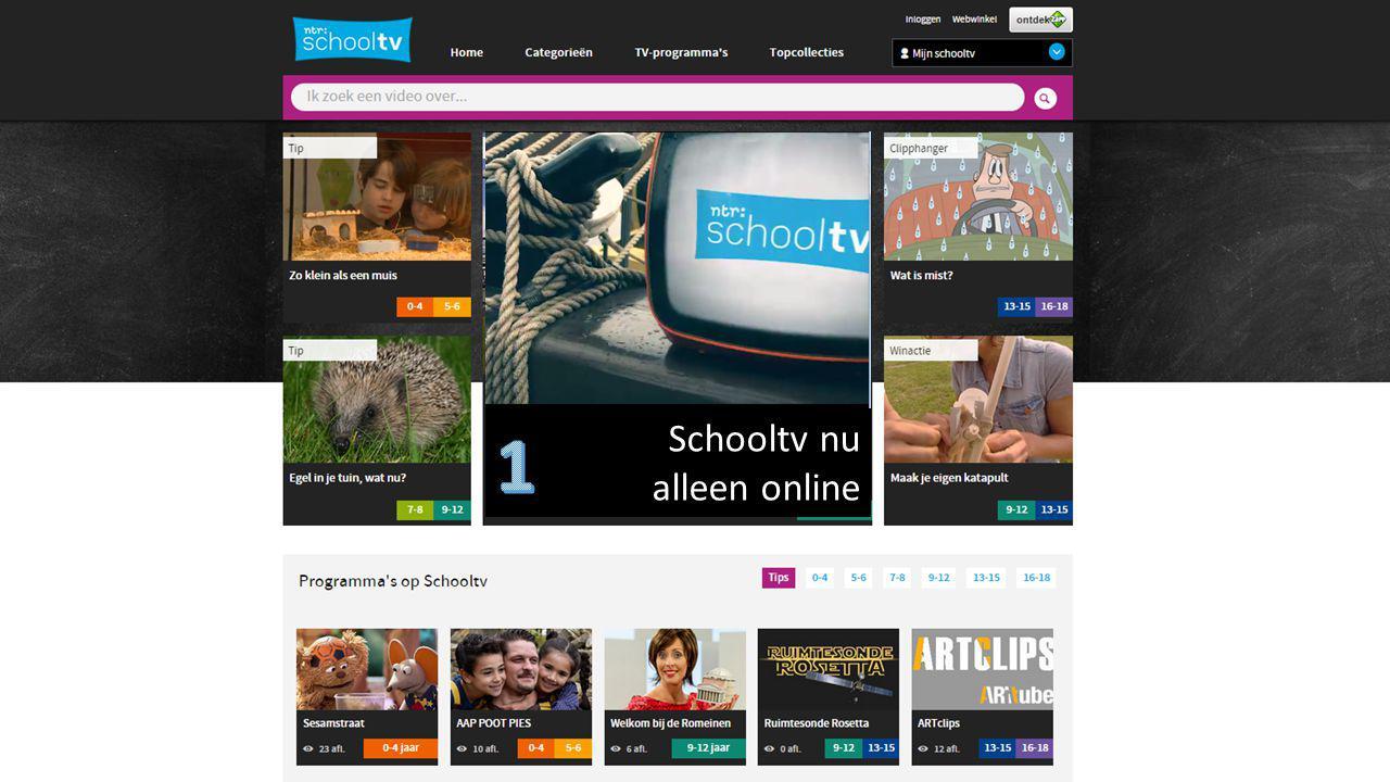 1 Schooltv nu alleen online