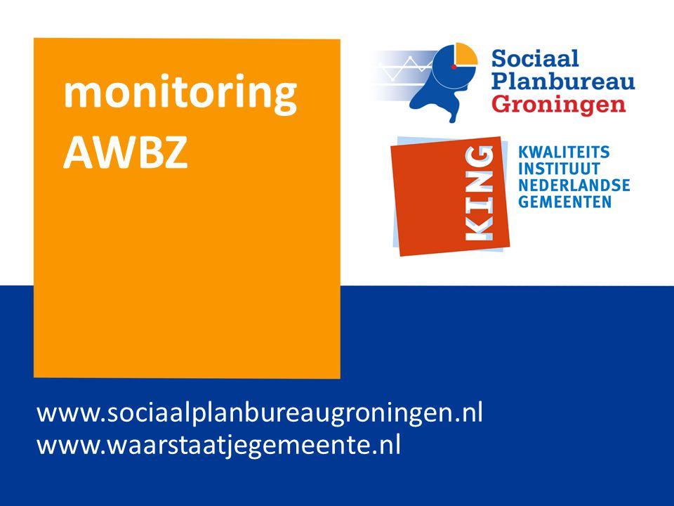 monitoring AWBZ www.sociaalplanbureaugroningen.nl