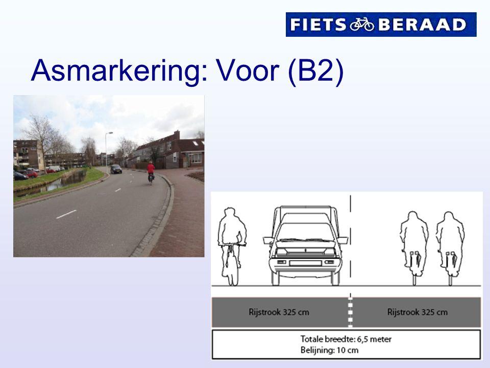 Asmarkering: Voor (B2)