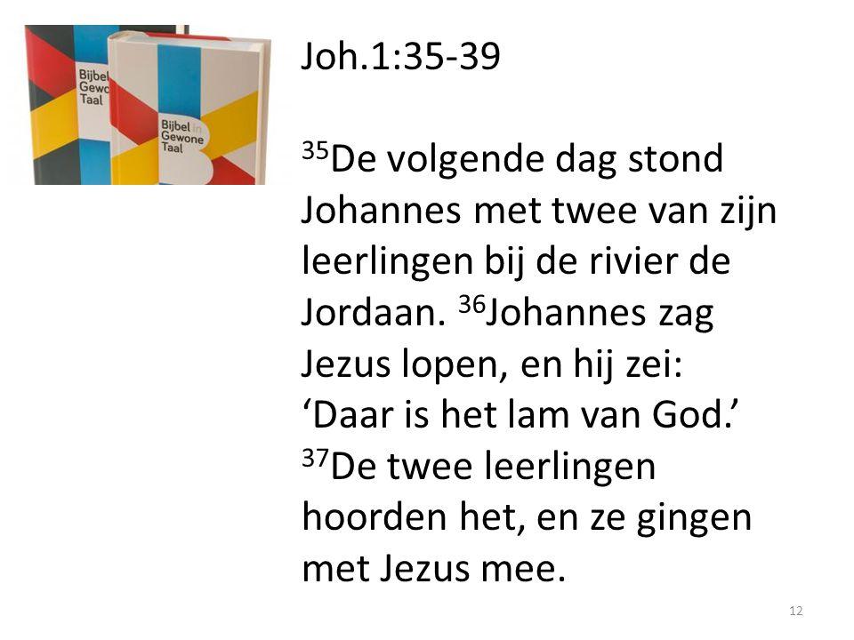Joh.1:35-39