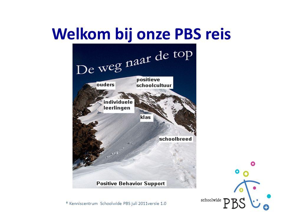 Welkom bij onze PBS reis