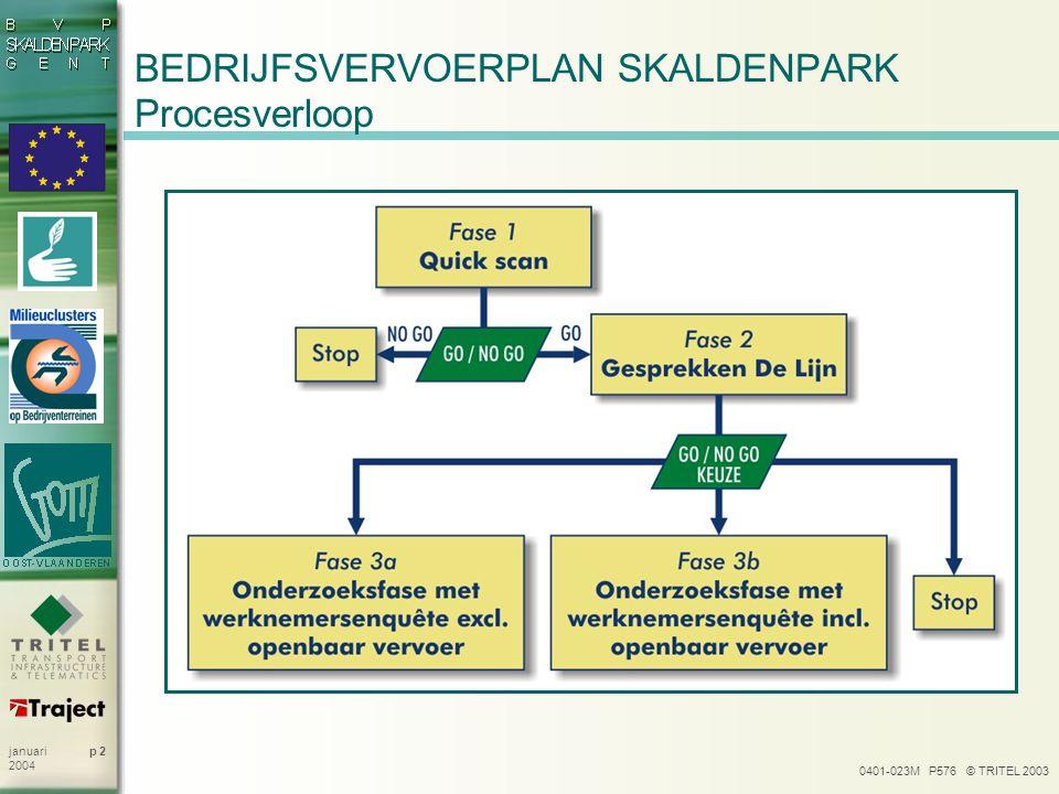 BEDRIJFSVERVOERPLAN SKALDENPARK Procesverloop