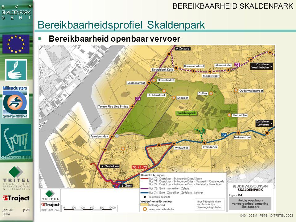 Bereikbaarheidsprofiel Skaldenpark