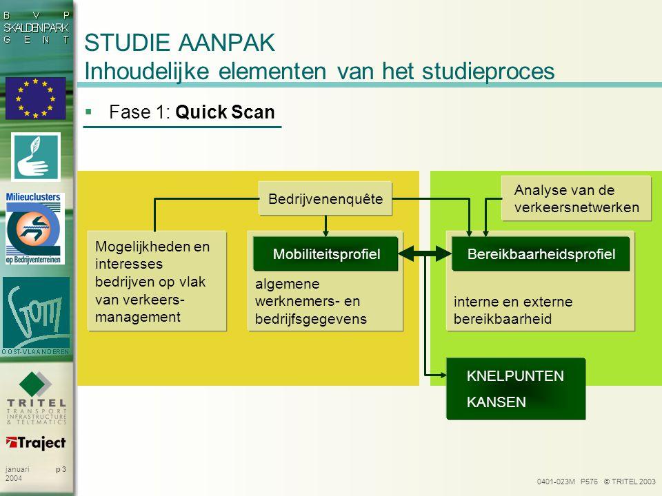STUDIE AANPAK Inhoudelijke elementen van het studieproces